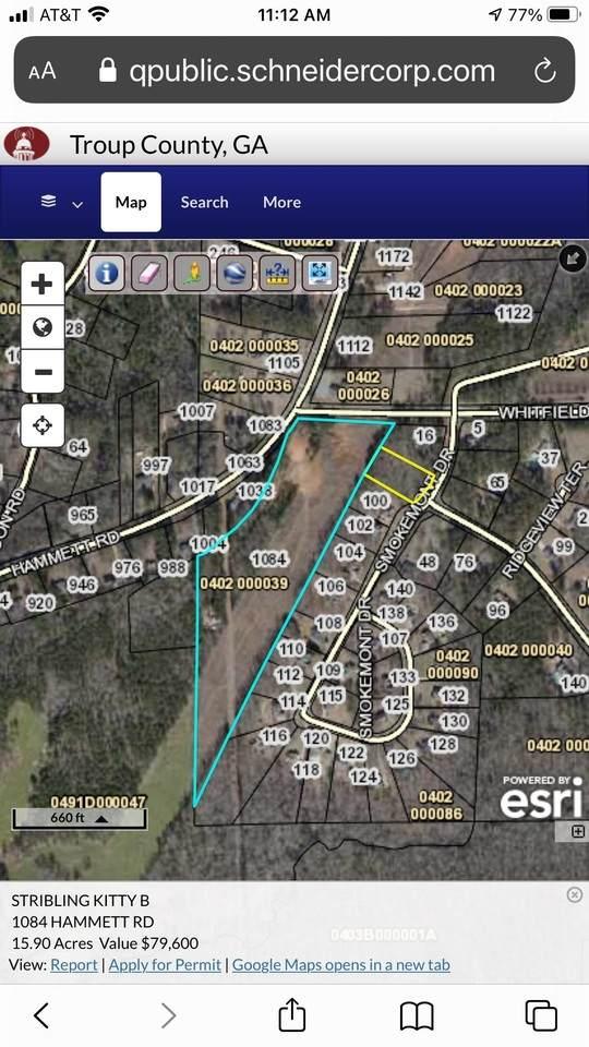 1084 Hammett Road, Lagrange, GA 30241 (MLS #9049392) :: RE/MAX One Stop