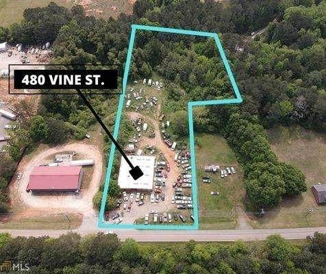 480 Vine Street, Monroe, GA 30655 (MLS #9051083) :: The Cole Realty Group