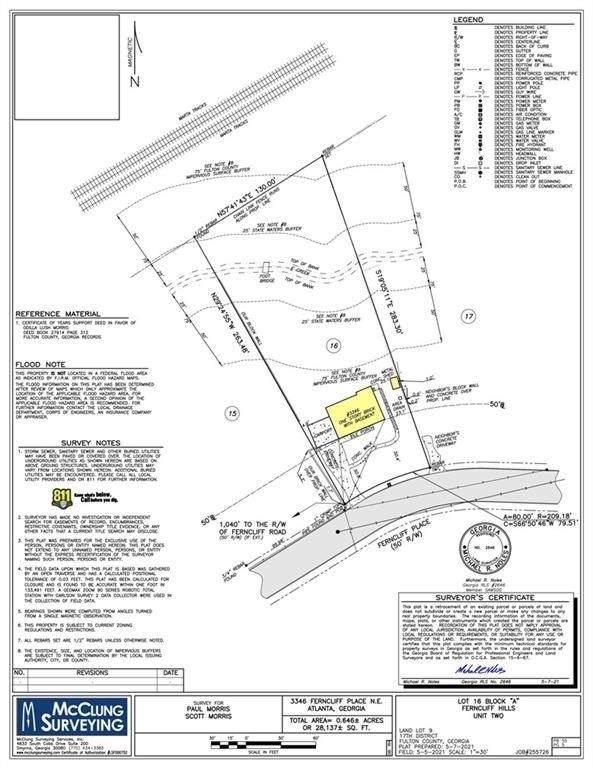 3346 Ferncliff Place NE, Atlanta, GA 30324 (MLS #9056331) :: Scott Fine Homes at Keller Williams First Atlanta