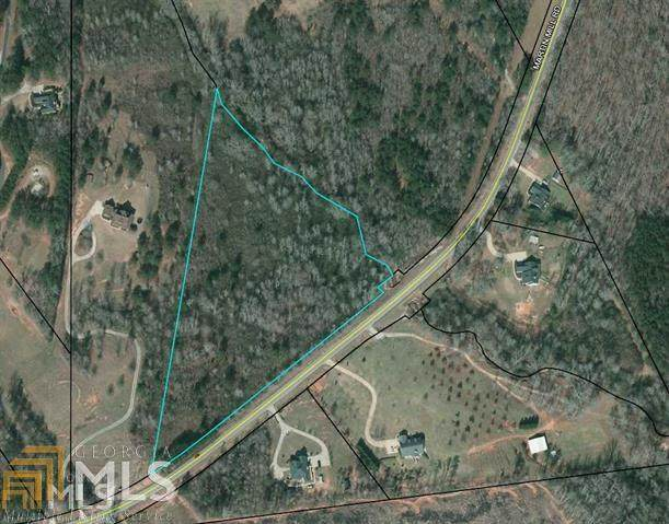 0 Martin Mill Rd 9.975 Ac, Moreland, GA 30259 (MLS #8790876) :: Athens Georgia Homes