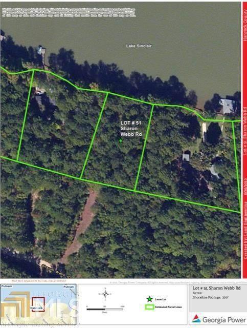 0 Sharon Webb Road Lot 51, Sparta, GA 31087 (MLS #8835647) :: Crown Realty Group
