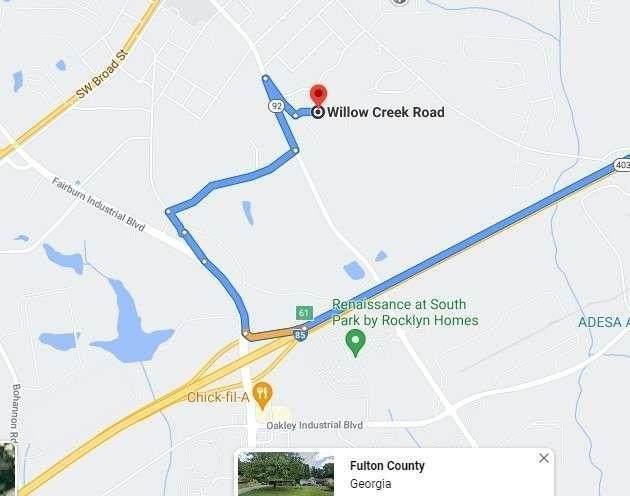 0 Willow Creek Road, Fairburn, GA 30213 (MLS #9023922) :: Crown Realty Group