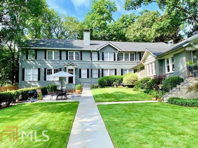 1350 N Morningside Dr #4, Atlanta, GA 30306 (MLS #8878844) :: Athens Georgia Homes