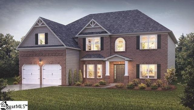 417 Castleford Place Lot 25, Simpsonville, SC 29681 (#1358292) :: The Toates Team