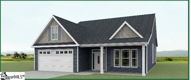 205 Loxley Drive Lot 64, Simpsonville, SC 29680 (#1358405) :: The Toates Team