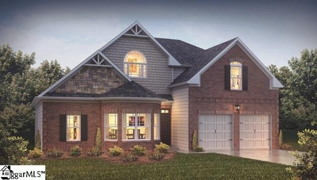 413 Castleford Place Lot 24, Simpsonville, SC 29681 (#1359826) :: The Toates Team