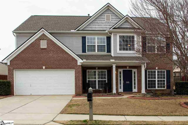 305 Tulip Tree Lane, Simpsonville, SC 29680 (#1361073) :: Connie Rice and Partners