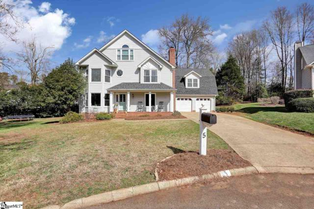 5 Briton Court, Greenville, SC 29615 (#1361118) :: Hamilton & Co. of Keller Williams Greenville Upstate