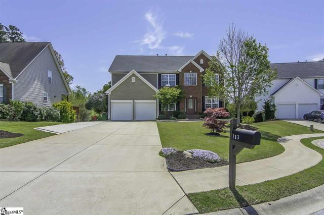 113 Saddlebrook Lane, Greenville, SC 29607 (#1365796) :: The Toates Team