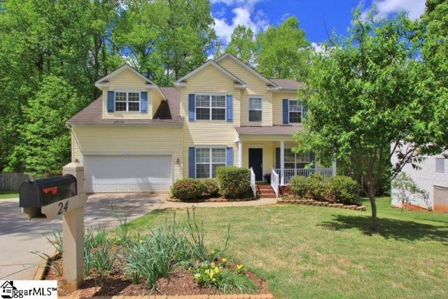 24 Trailstream Drive, Mauldin, SC 29662 (#1366182) :: Connie Rice and Partners