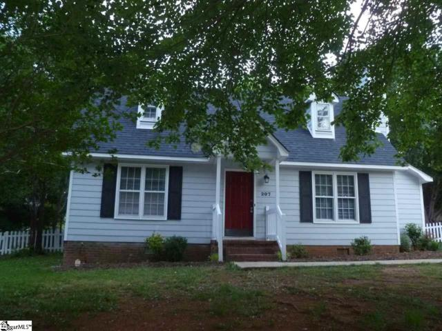 207 Polo Drive, Simpsonville, SC 29681 (#1368564) :: Hamilton & Co. of Keller Williams Greenville Upstate