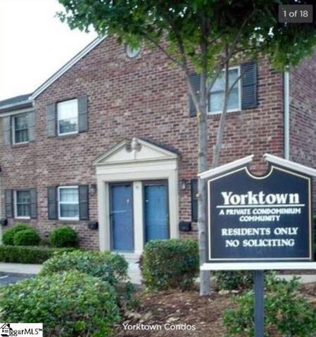 2530 E North Street 5F, Greenville, SC 29615 (#1368887) :: Hamilton & Co. of Keller Williams Greenville Upstate
