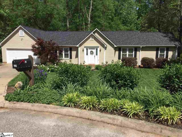 105 Saint Charles Place, Greer, SC 29650 (#1369596) :: The Toates Team