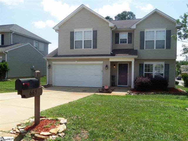 665 S Morningwood Lane, Duncan, SC 29334 (#1369969) :: Coldwell Banker Caine