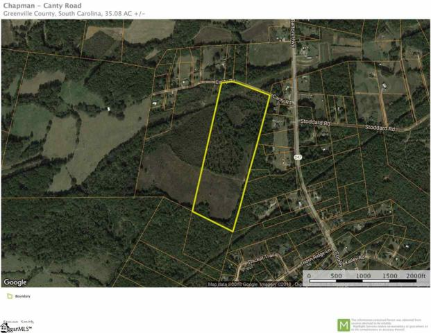 00 Canty Road, Pelzer, SC 29669 (#1370259) :: The Toates Team