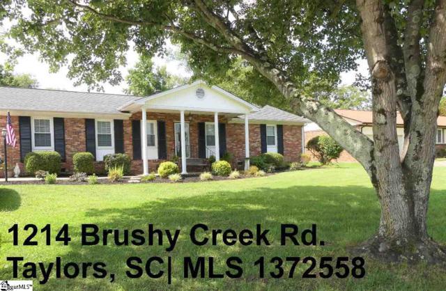 1214 Brushy Creek Road, Taylors, SC 29687 (#1372558) :: Hamilton & Co. of Keller Williams Greenville Upstate