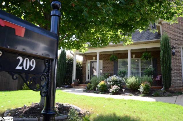 209 N Radcliff Way, Spartanburg, SC 29301 (#1372898) :: Hamilton & Co. of Keller Williams Greenville Upstate