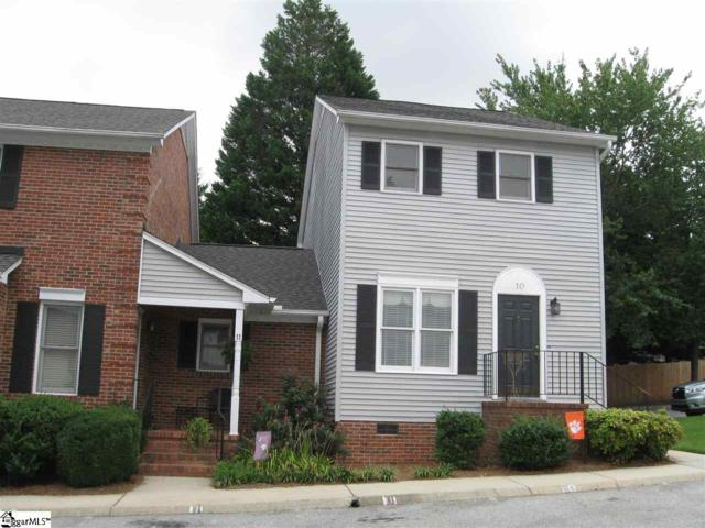 2808 E North Street Unit 10, Greenville, SC 29615 (#1373234) :: The Toates Team
