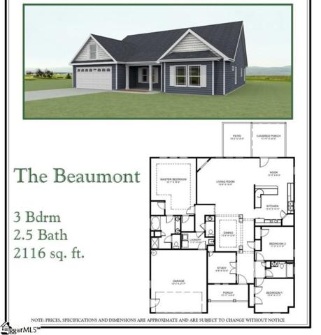 1394 Satterfield Drive Lot 4, Greer, SC 29651 (#1373527) :: The Toates Team