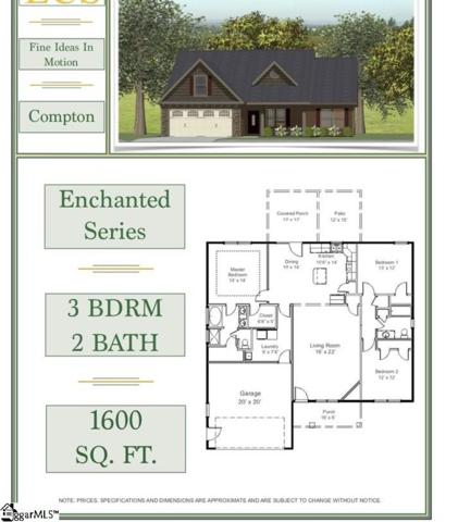 1398 Satterfield Drive Lot 5, Greer, SC 29651 (#1373530) :: Coldwell Banker Caine