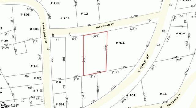 Rosewood Street, Liberty, SC 29657 (#1374232) :: J. Michael Manley Team