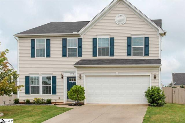 102 Young Harris Drive, Simpsonville, SC 29681 (#1374794) :: The Haro Group of Keller Williams