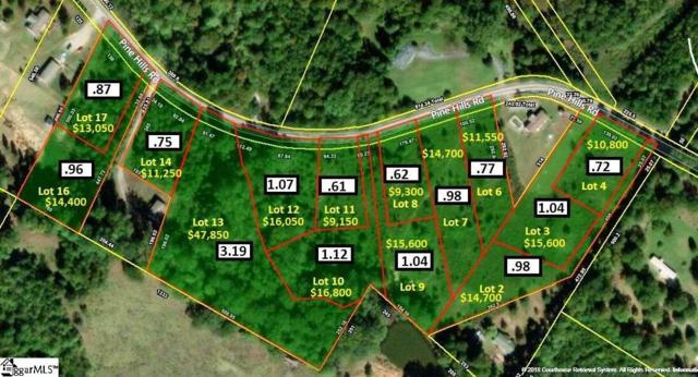 317 Pine Hills Road, Woodruff, SC 29388 (#1376649) :: The Toates Team