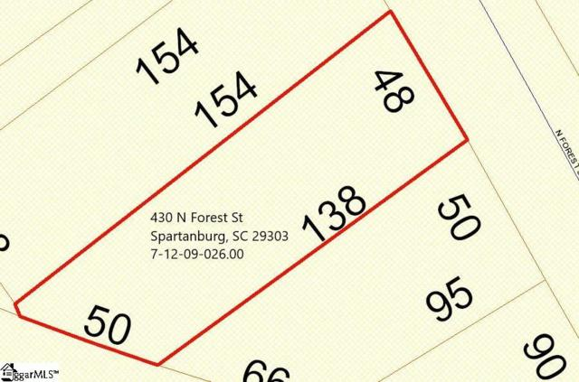 430 N Forest Street, Spartanburg, SC 29303 (#1376824) :: The Toates Team