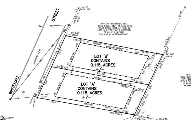 106 Whitehall Street, Greenville, SC 29609 (#1380382) :: Parker Group
