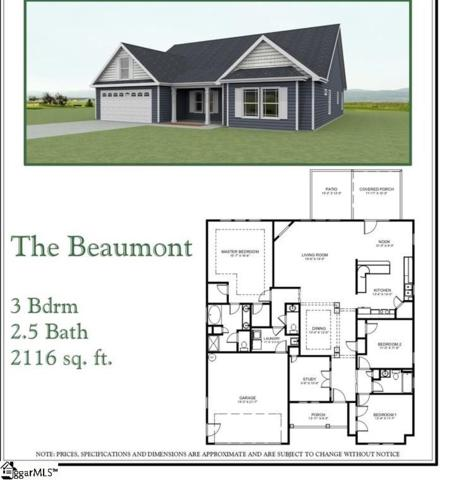688 Sloan Road Lot 13, Lyman, SC 29365 (#1381484) :: Connie Rice and Partners