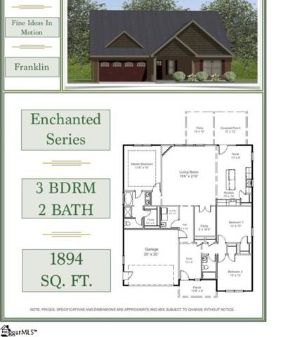 696 Sloan Road Lot 14, Lyman, SC 29365 (#1381487) :: Connie Rice and Partners