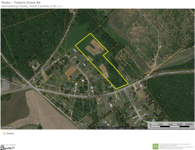 Fosters Grove Road, Chesnee, SC 29323 (#1381935) :: The Toates Team