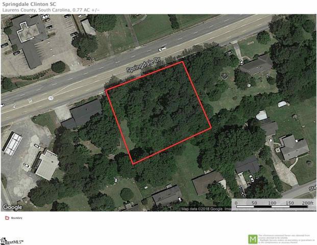 00 Springdale Drive, Clinton, SC 29325 (#1382037) :: J. Michael Manley Team