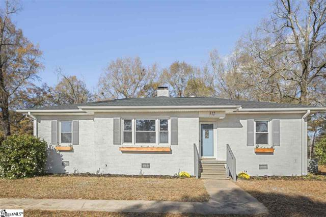 312 W Hampton Avenue, Honea Path, SC 29654 (#1382787) :: Hamilton & Co. of Keller Williams Greenville Upstate