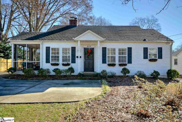 409 Parkins Mill Road, Greenville, SC 29607 (#1382886) :: The Robby Brady Team
