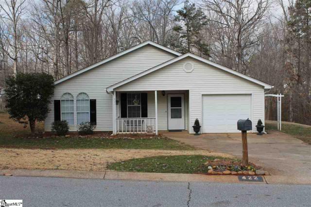 422 Maplewood Circle, Greer, SC 29651 (MLS #1383478) :: Prime Realty