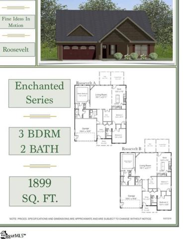8 Upcountry Lane Lot 2, Travelers Rest, SC 29690 (#1383724) :: Hamilton & Co. of Keller Williams Greenville Upstate
