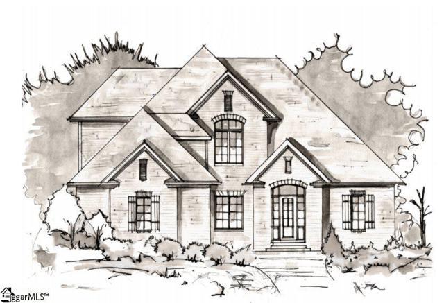 214 Chestnut Pond Lane, Simpsonville, SC 29681 (#1385038) :: Hamilton & Co. of Keller Williams Greenville Upstate