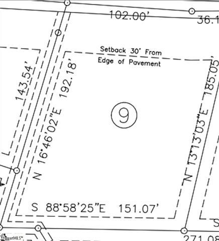 58 Patsy Drive Lot 9, Gray Court, SC 29645 (#1388740) :: J. Michael Manley Team