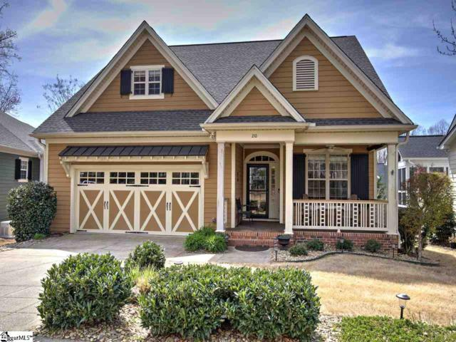 210 Carilion Lane, Greenville, SC 29617 (#1388789) :: Coldwell Banker Caine