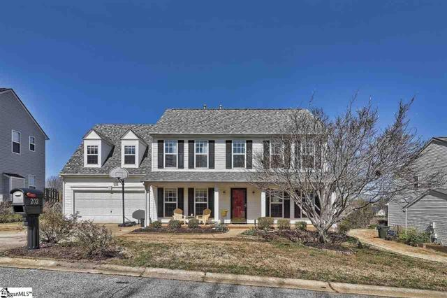 202 Highgate Circle, Greer, SC 29650 (#1389162) :: The Toates Team