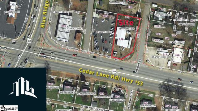 602 Cedar Lane Road, Greenville, SC 29611 (#1391969) :: The Toates Team