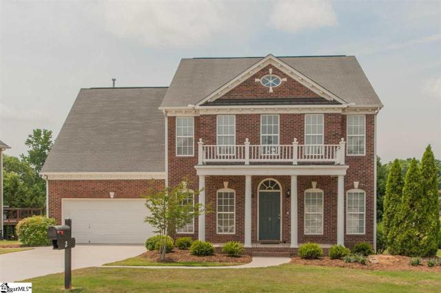 2 Cabrini Court, Simpsonville, SC 29680 (#1393197) :: J. Michael Manley Team