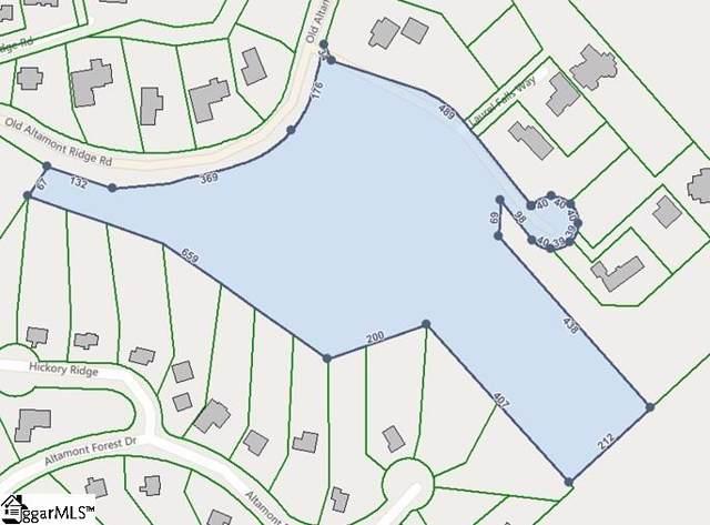 110 Old Altamont Ridge Road, Greenville, SC 29609 (#1402440) :: Hamilton & Co. of Keller Williams Greenville Upstate