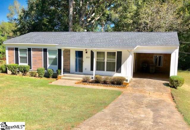 203 Young Drive, Laurens, SC 29360 (#1404016) :: The Haro Group of Keller Williams
