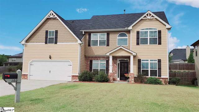 102 Onslow Court, Simpsonville, SC 29680 (#1404159) :: Coldwell Banker Caine