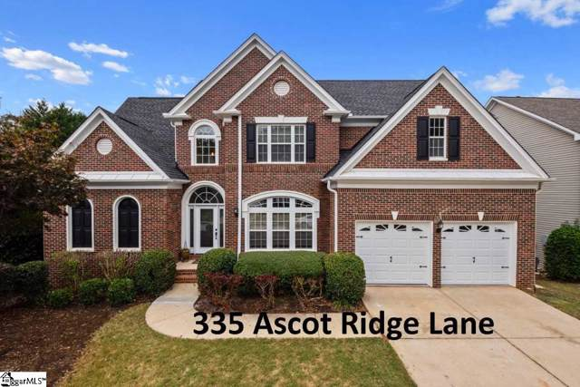 335 Ascot Ridge Lane, Greer, SC 29650 (#1404212) :: Hamilton & Co. of Keller Williams Greenville Upstate
