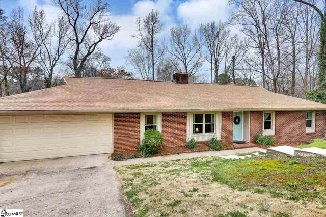 4 Hillbrook Road, Taylors, SC 29687 (#1404216) :: Connie Rice and Partners