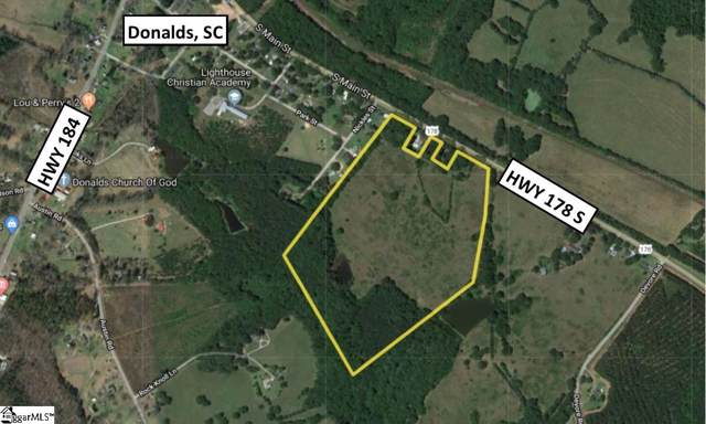 S 178 Highway, Donalds, SC 29638 (#1404359) :: Mossy Oak Properties Land and Luxury