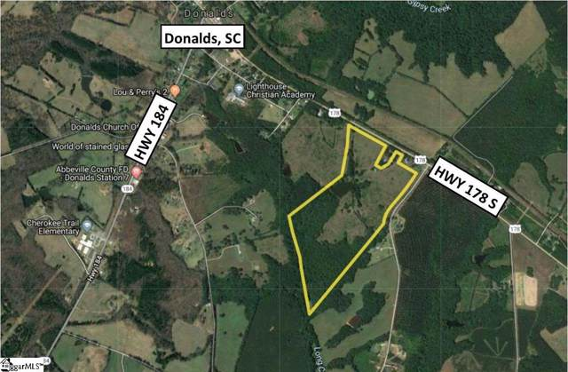 S 178 Highway, Donalds, SC 29638 (#1404361) :: Mossy Oak Properties Land and Luxury